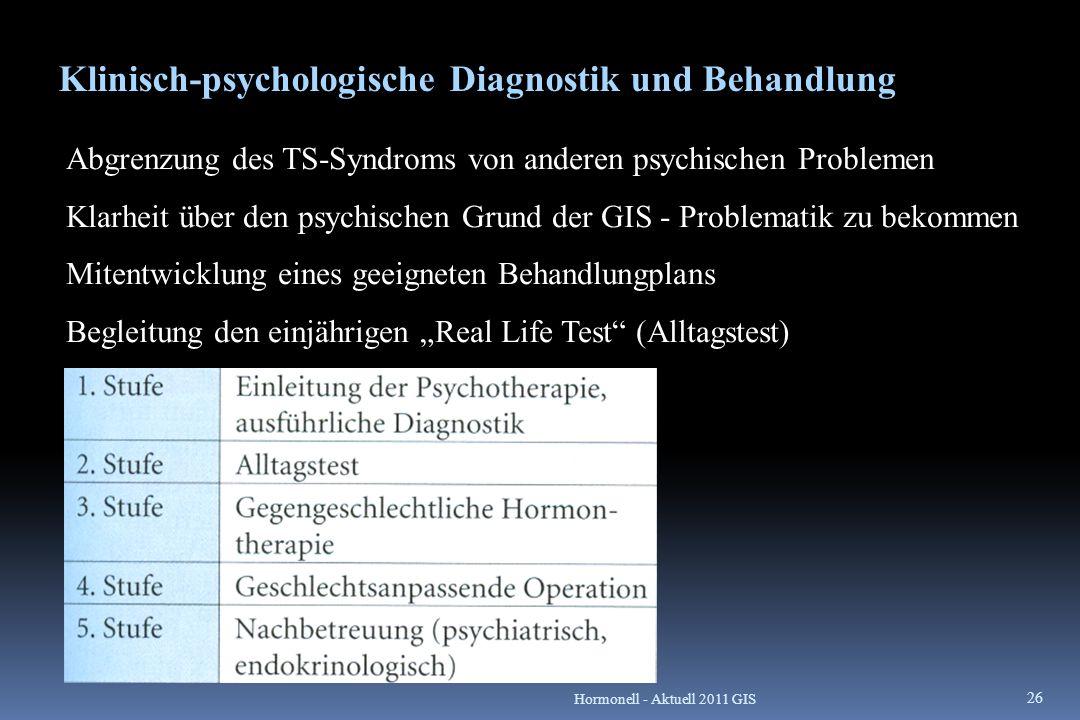 Klinisch-psychologische Diagnostik und Behandlung