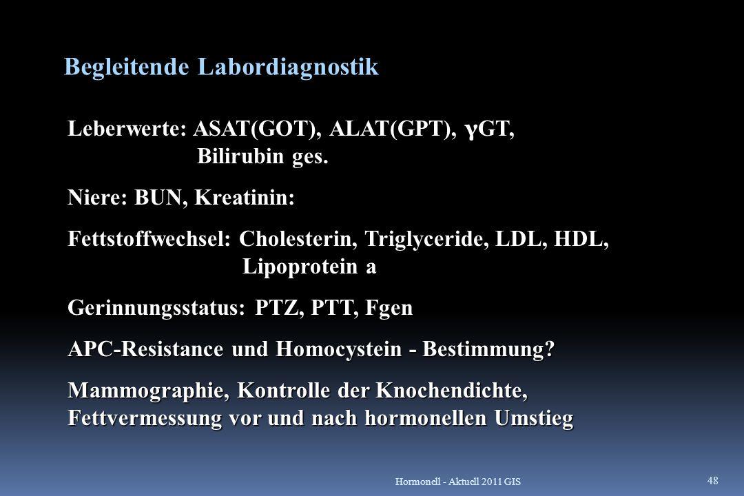 Begleitende Labordiagnostik
