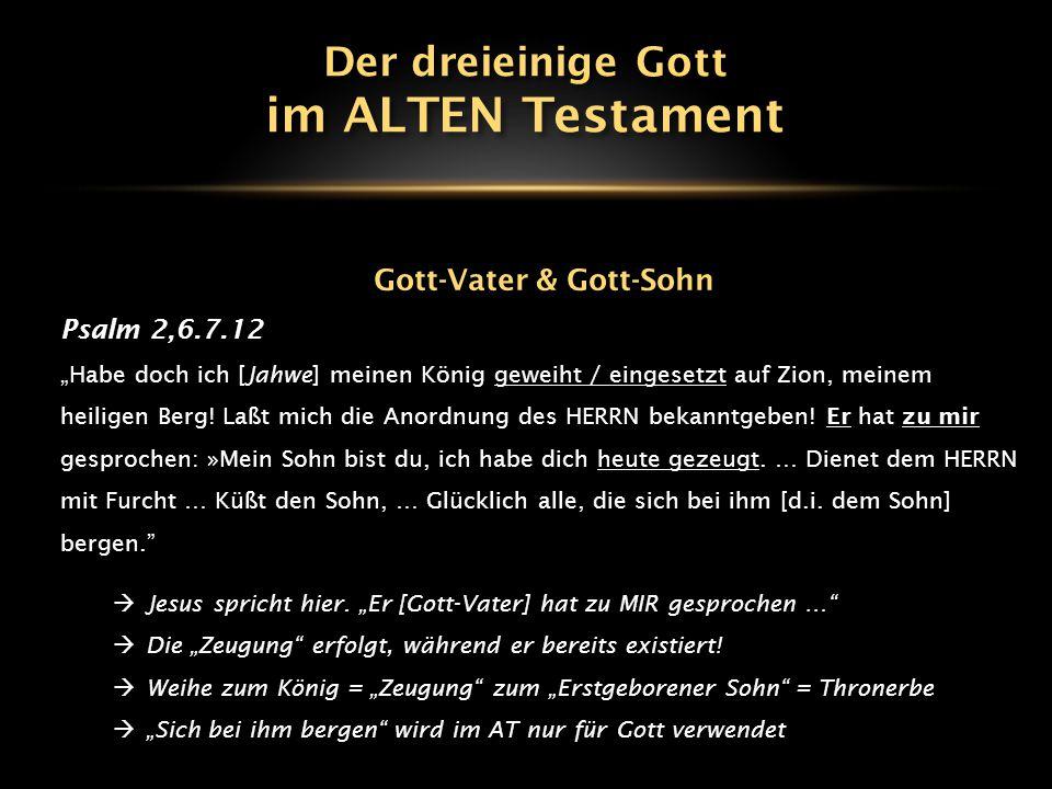 Gott-Vater & Gott-Sohn