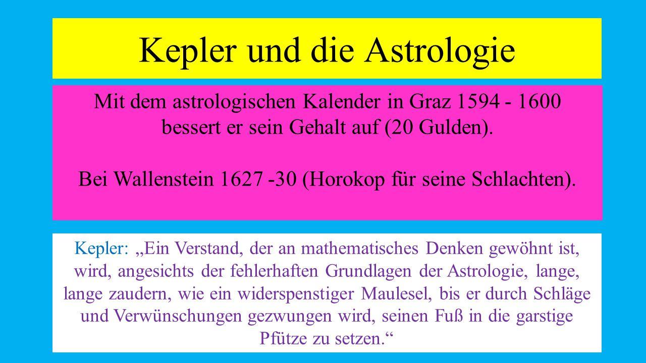Kepler und die Astrologie