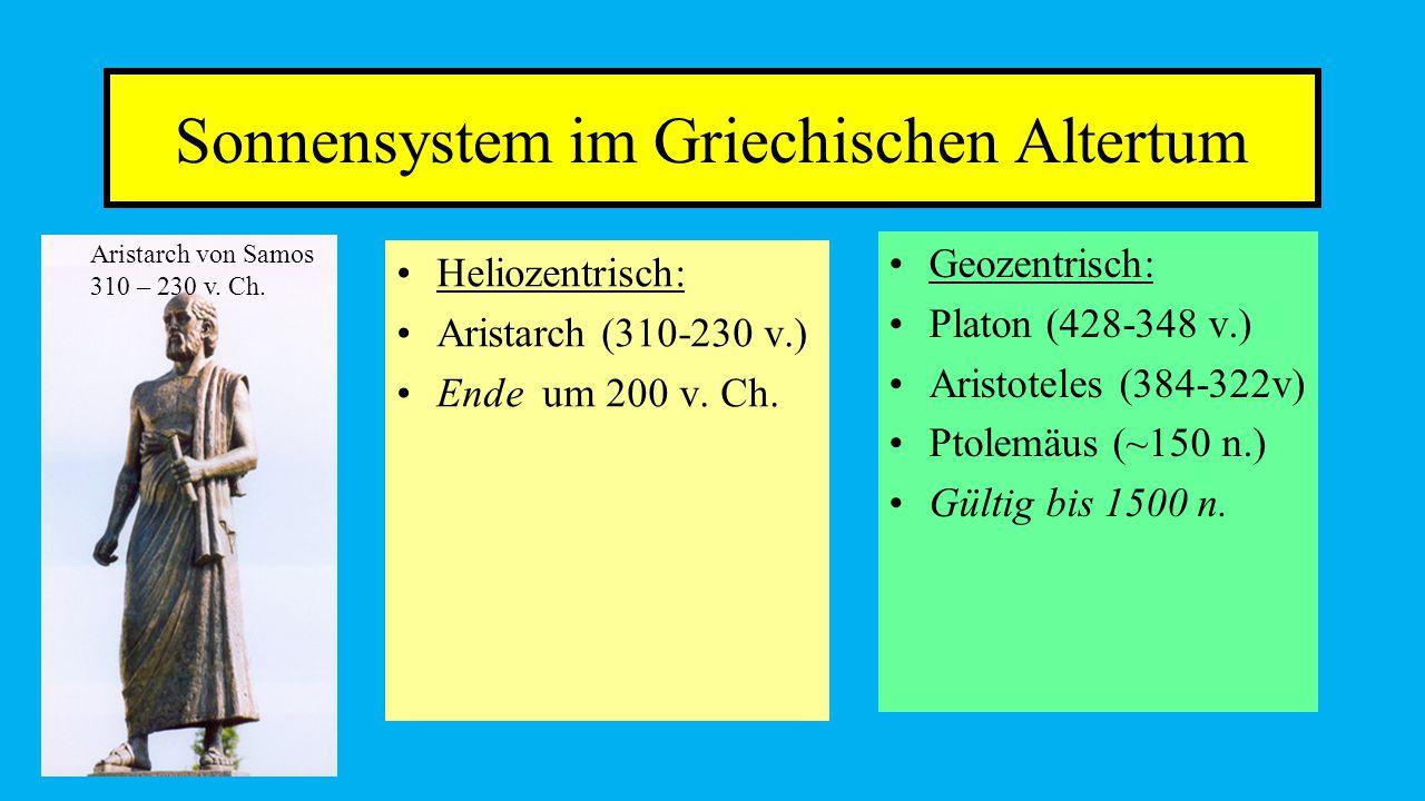 Sonnensystem im Griechischen Altertum
