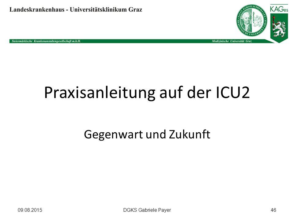 Praxisanleitung auf der ICU2