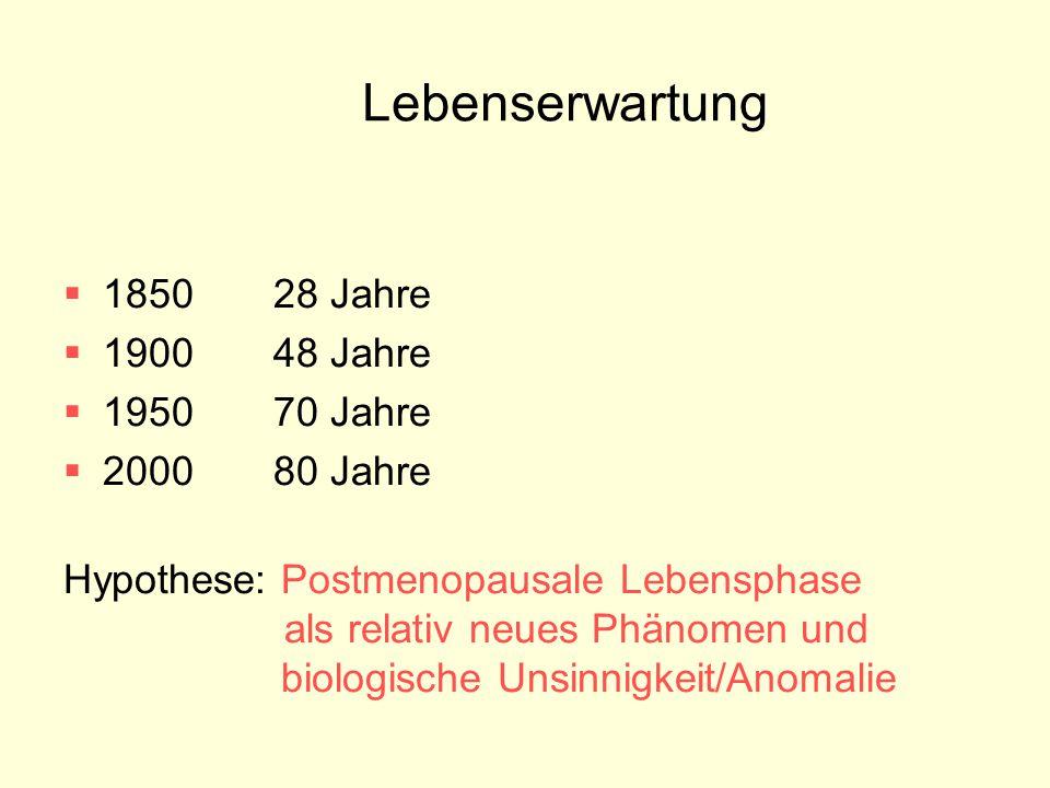 Lebenserwartung 1850 28 Jahre 1900 48 Jahre 1950 70 Jahre