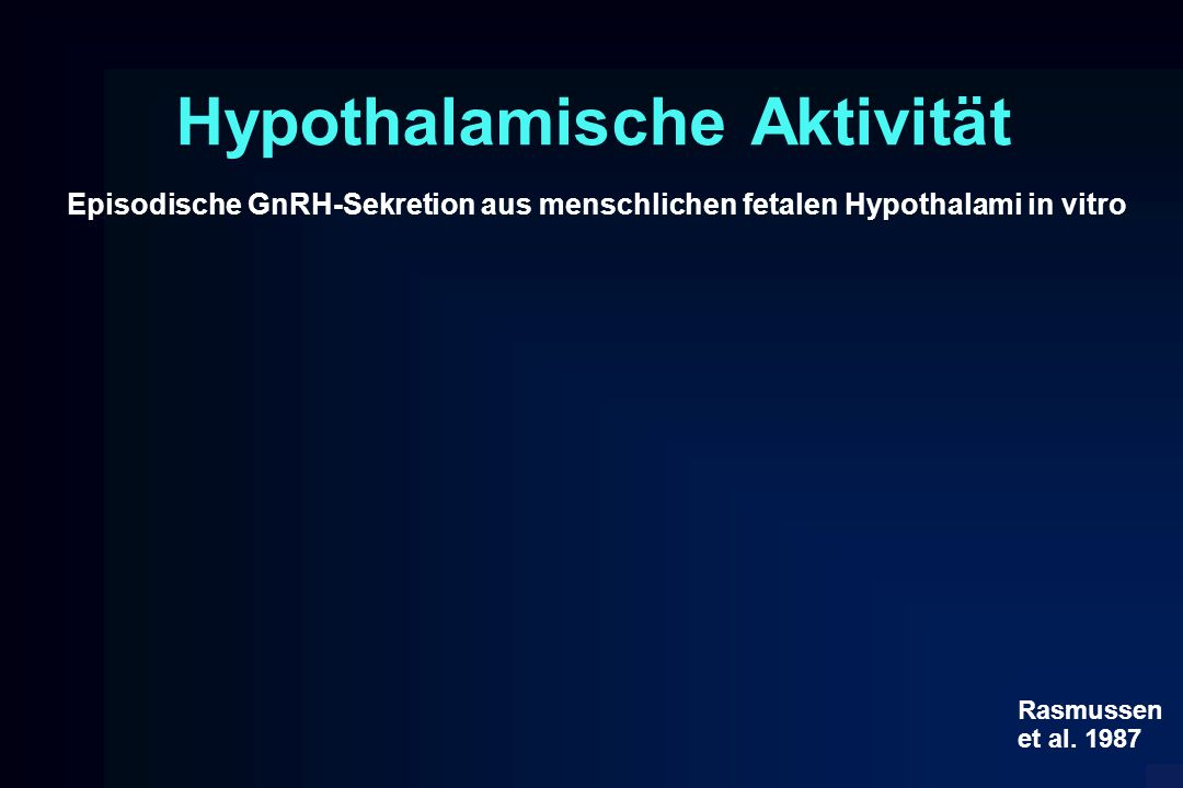 Hypothalamische Aktivität