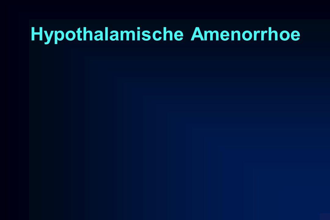 Hypothalamische Amenorrhoe