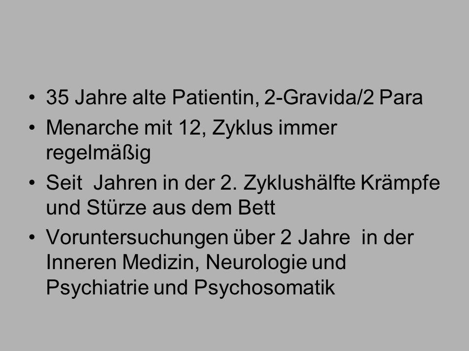 35 Jahre alte Patientin, 2-Gravida/2 Para