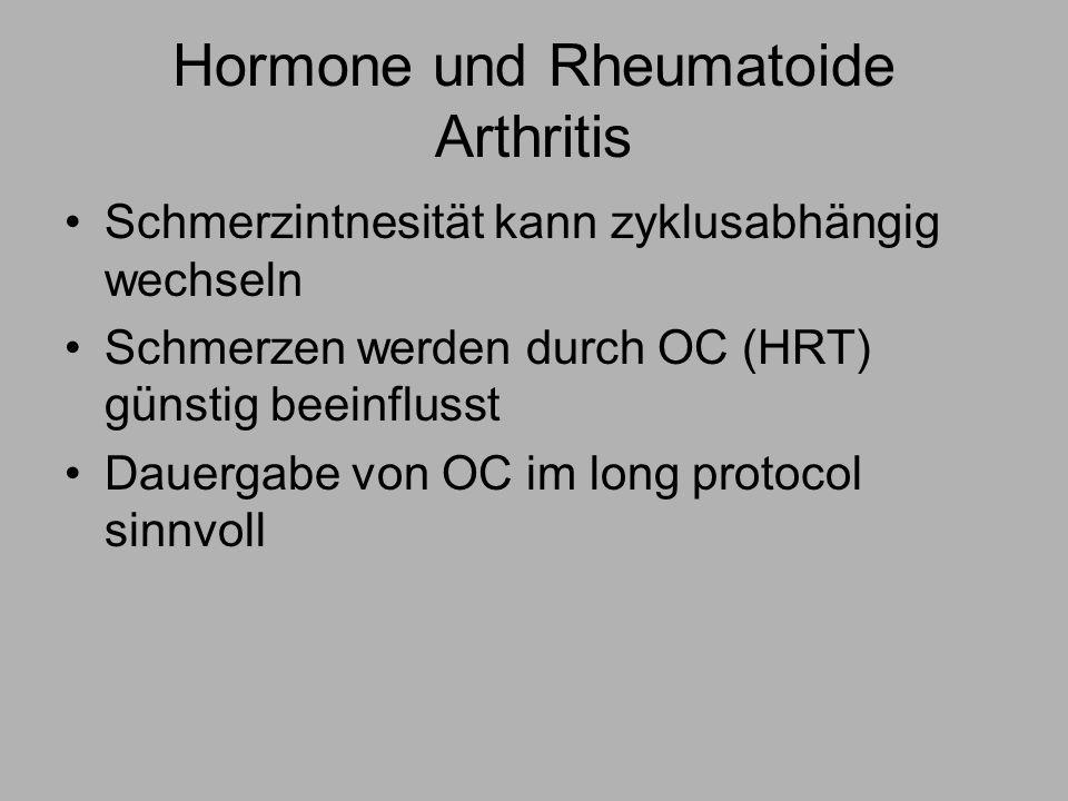 Hormone und Rheumatoide Arthritis