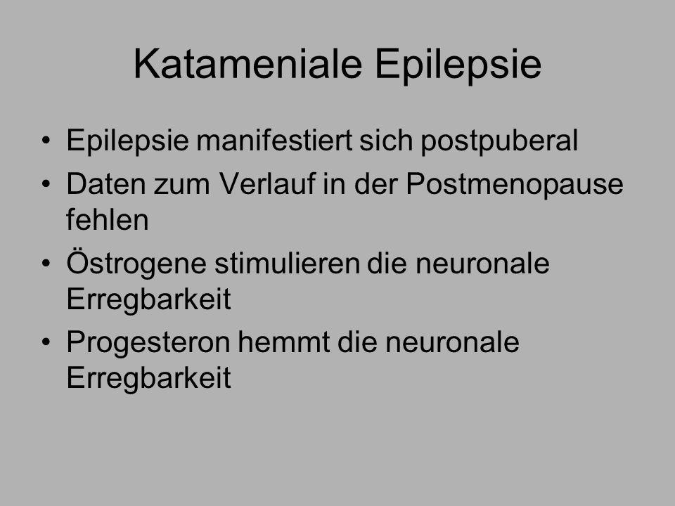 Katameniale Epilepsie
