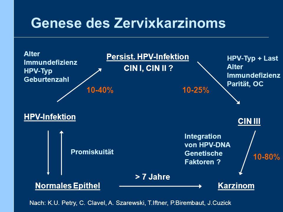 Genese des Zervixkarzinoms