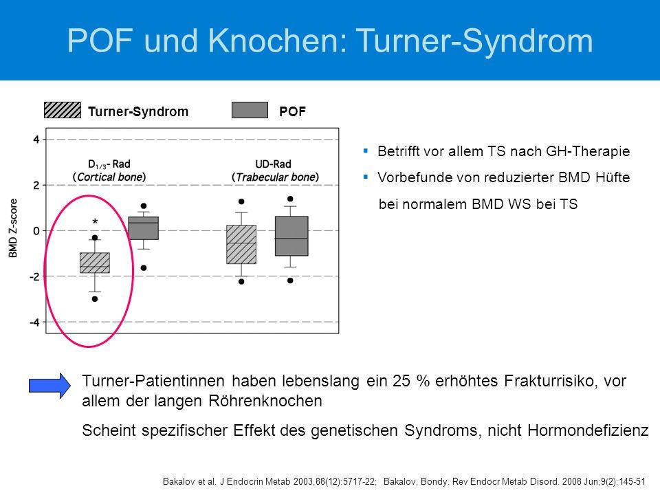POF und Knochen: Turner-Syndrom