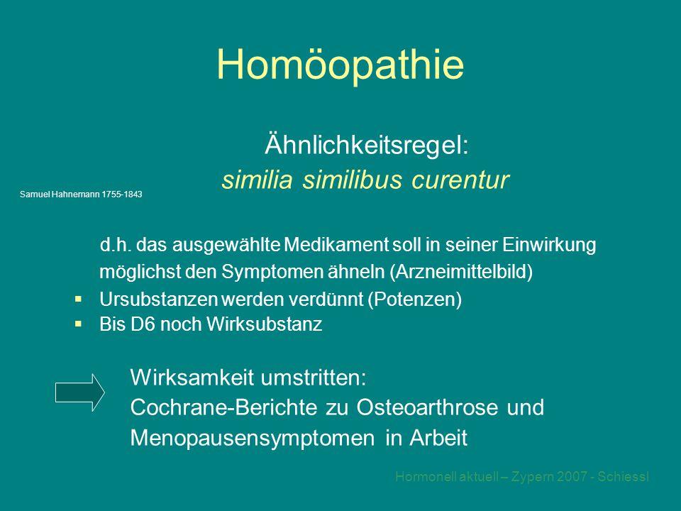 Hormonell aktuell – Zypern 2007 - Schiessl