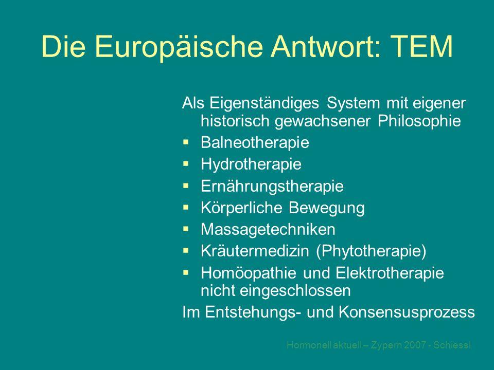 Die Europäische Antwort: TEM