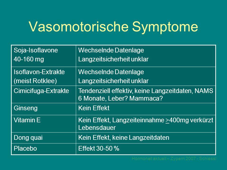 Vasomotorische Symptome