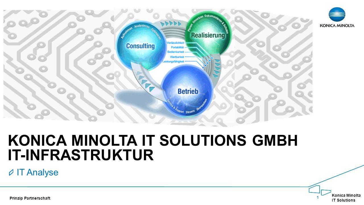 Konica Minolta IT Solutions GmbH IT-InFRASTRUKTUR