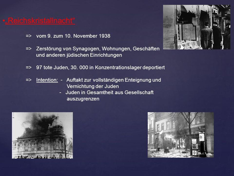 """""""Reichskristallnacht"""