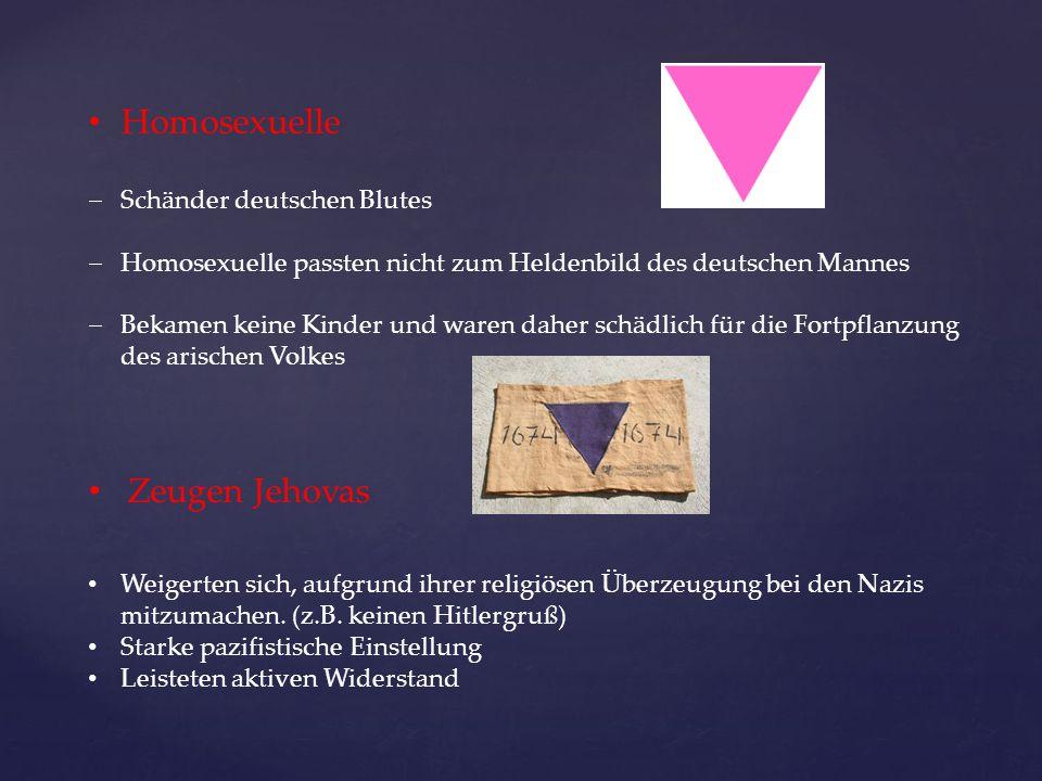 Homosexuelle Zeugen Jehovas Schänder deutschen Blutes