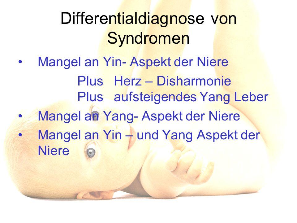 Differentialdiagnose von Syndromen