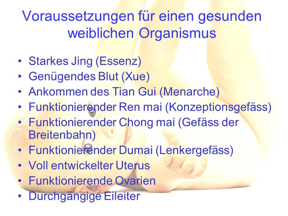 Voraussetzungen für einen gesunden weiblichen Organismus
