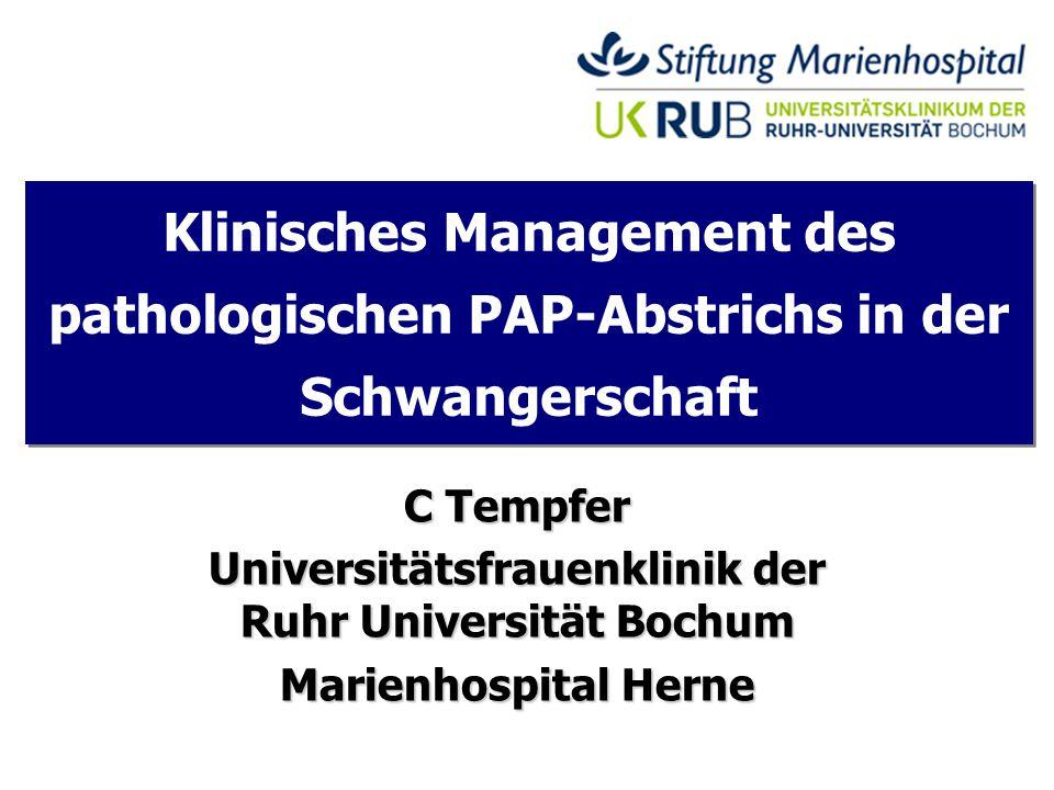 Universitätsfrauenklinik der Ruhr Universität Bochum