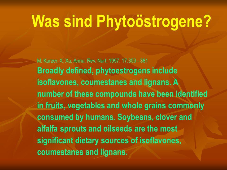 Was sind Phytoöstrogene