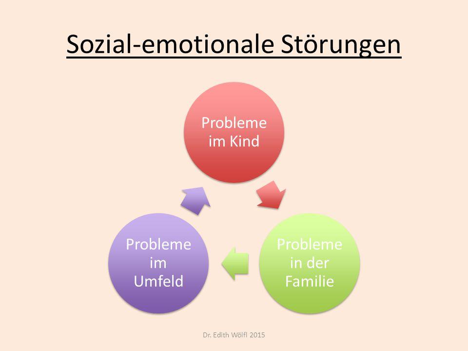 Sozial-emotionale Störungen