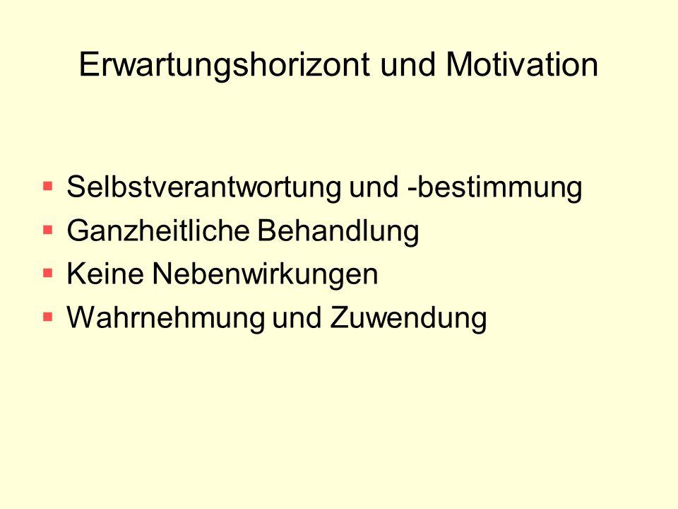 Erwartungshorizont und Motivation