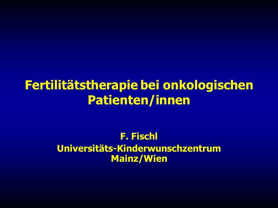 Fertilitätstherapie bei onkologischen Patienten/innen