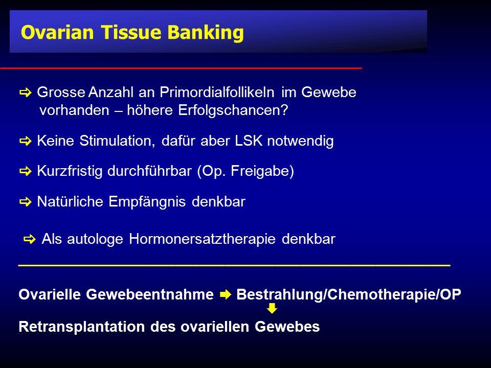Ovarian Tissue Banking