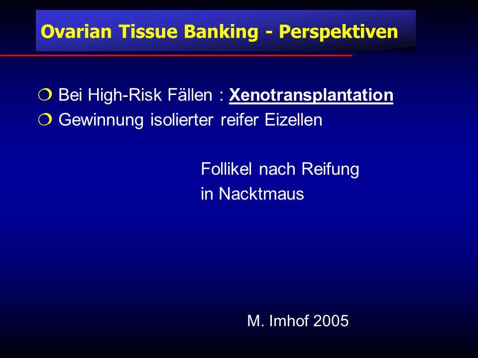 Ovarian Tissue Banking - Perspektiven
