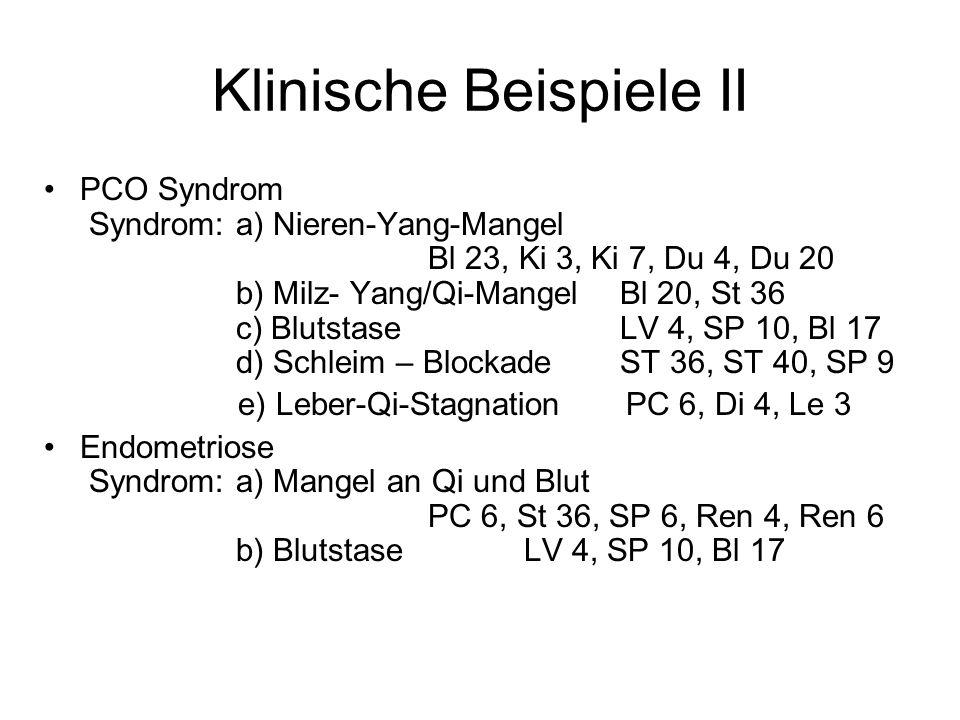 Klinische Beispiele II