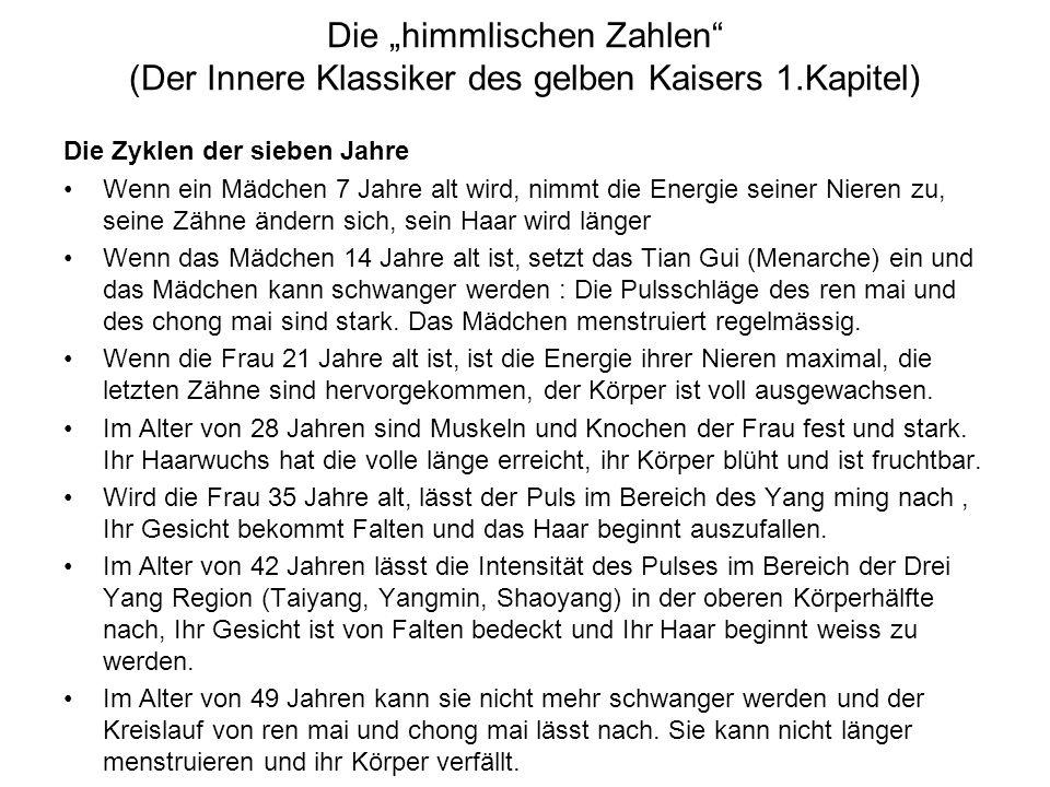 """Die """"himmlischen Zahlen (Der Innere Klassiker des gelben Kaisers 1"""
