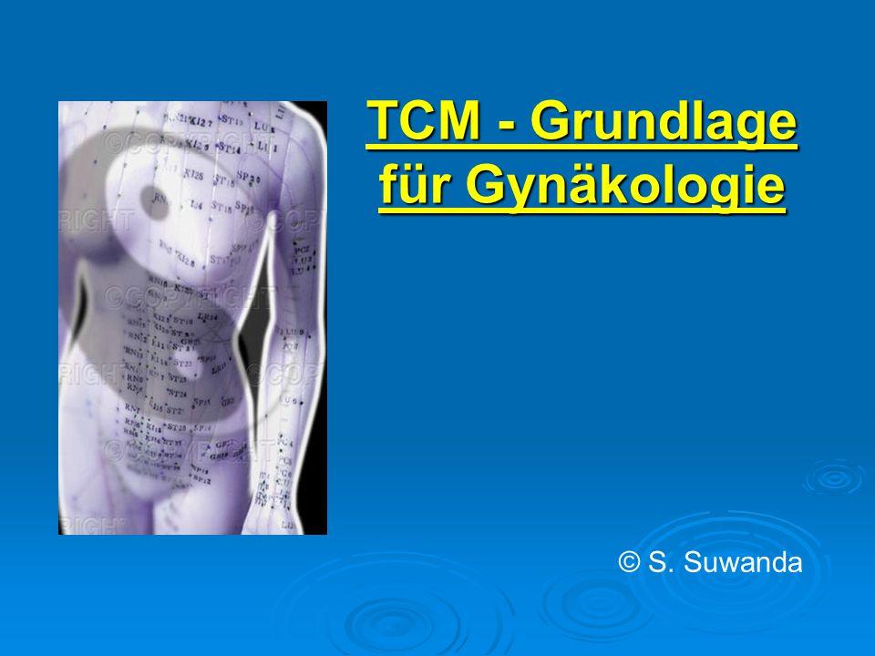TCM - Grundlage für Gynäkologie