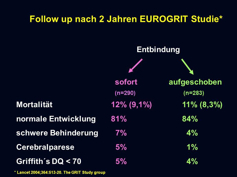 Follow up nach 2 Jahren EUROGRIT Studie*