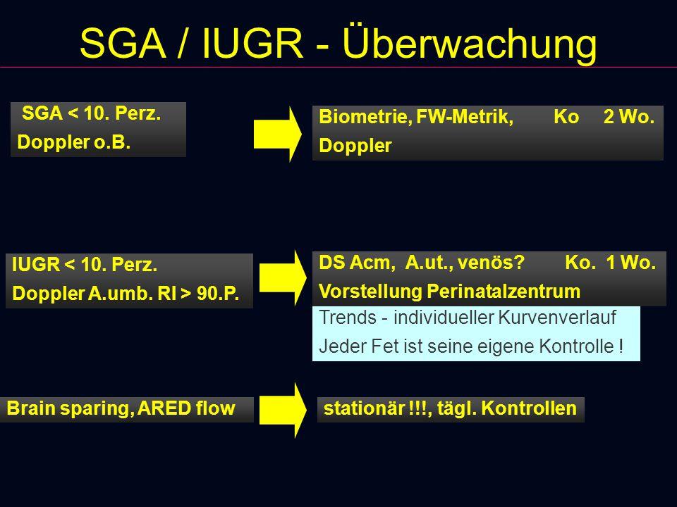 SGA / IUGR - Überwachung