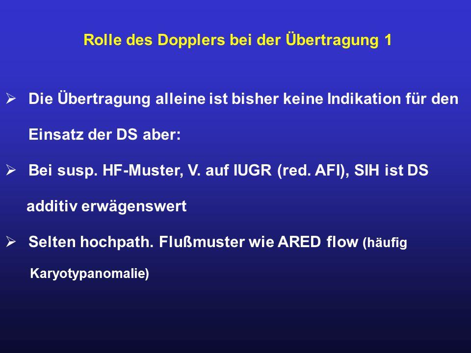 Rolle des Dopplers bei der Übertragung 1