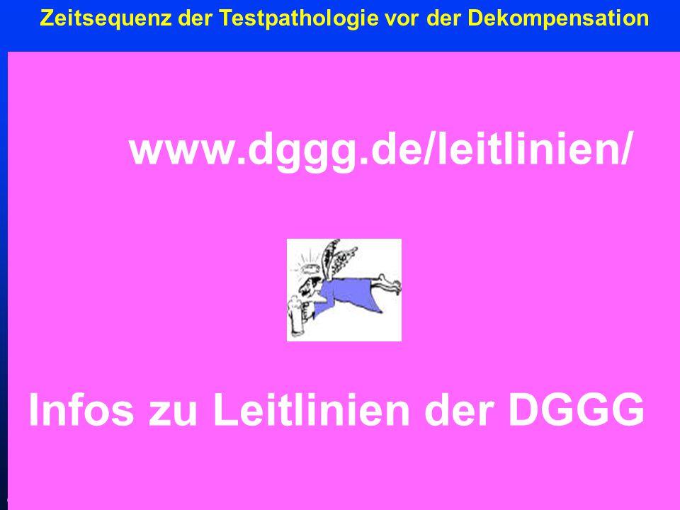 Infos zu Leitlinien der DGGG