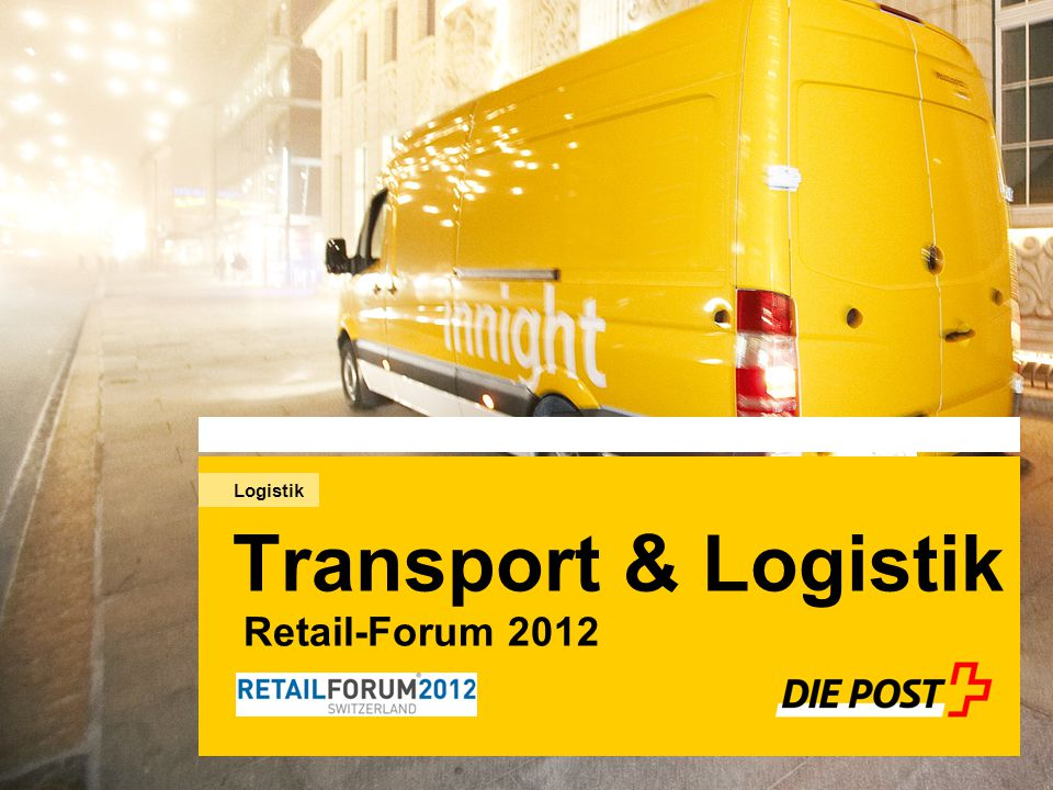 Transport & Logistik Retail-Forum 2012