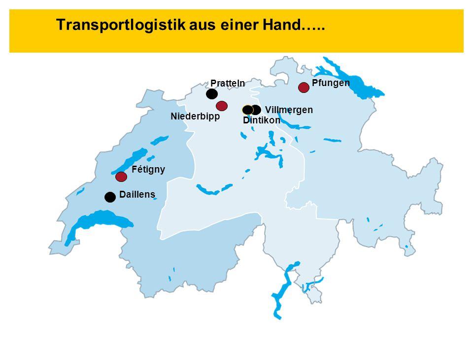 Transportlogistik aus einer Hand…..