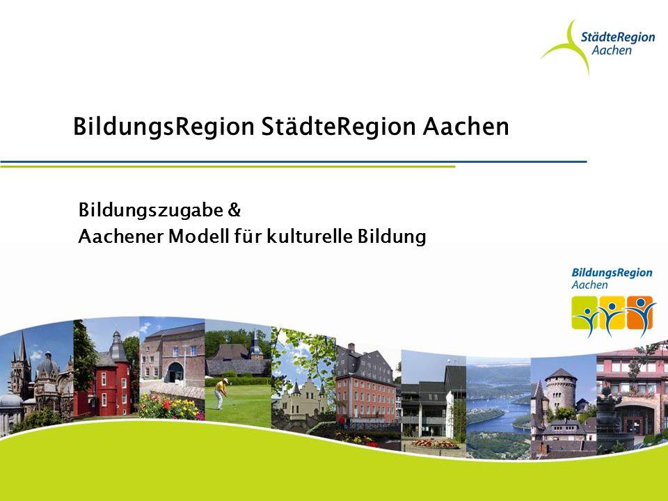 BildungsRegion StädteRegion Aachen