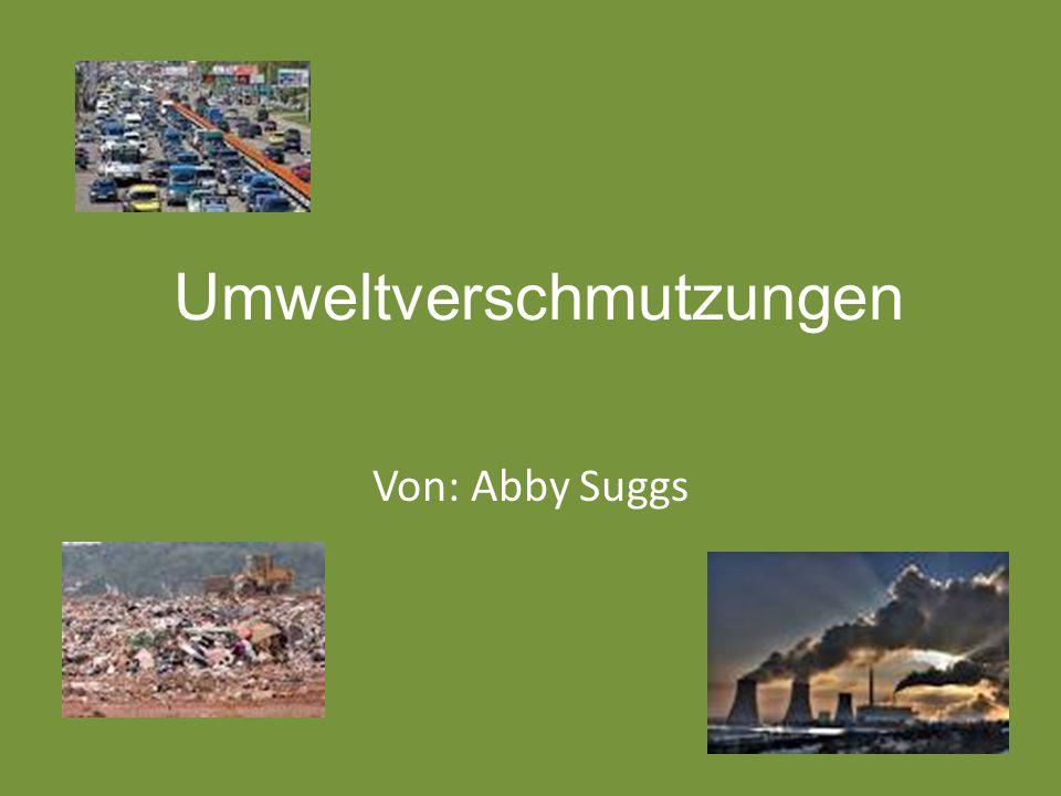 Umweltverschmutzungen