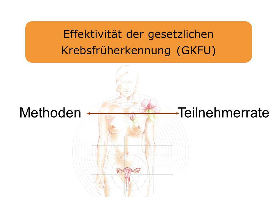 Effektivität der gesetzlichen Krebsfrüherkennung (GKFU)