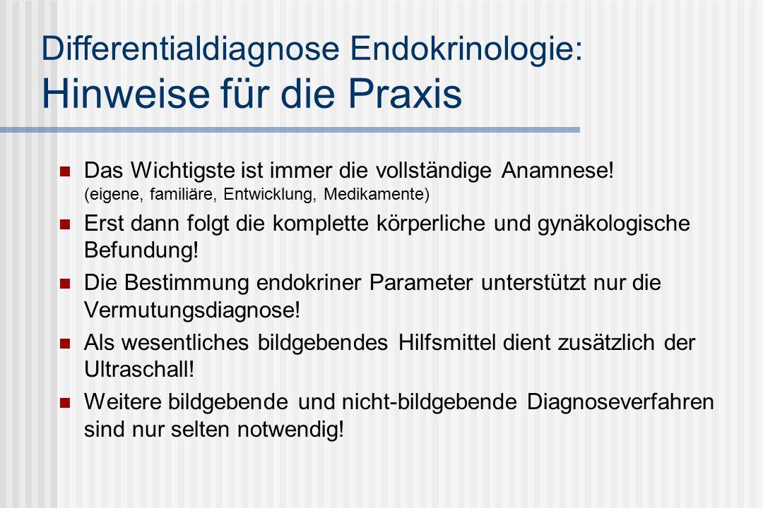 Differentialdiagnose Endokrinologie: Hinweise für die Praxis