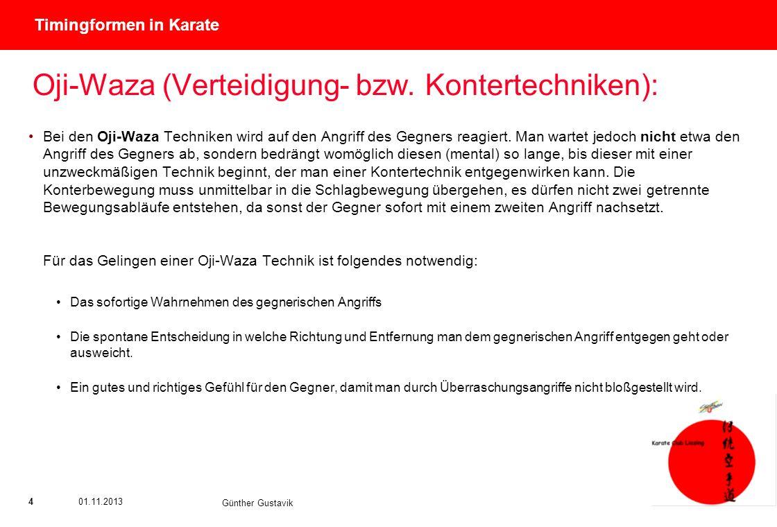 Oji-Waza (Verteidigung- bzw. Kontertechniken):