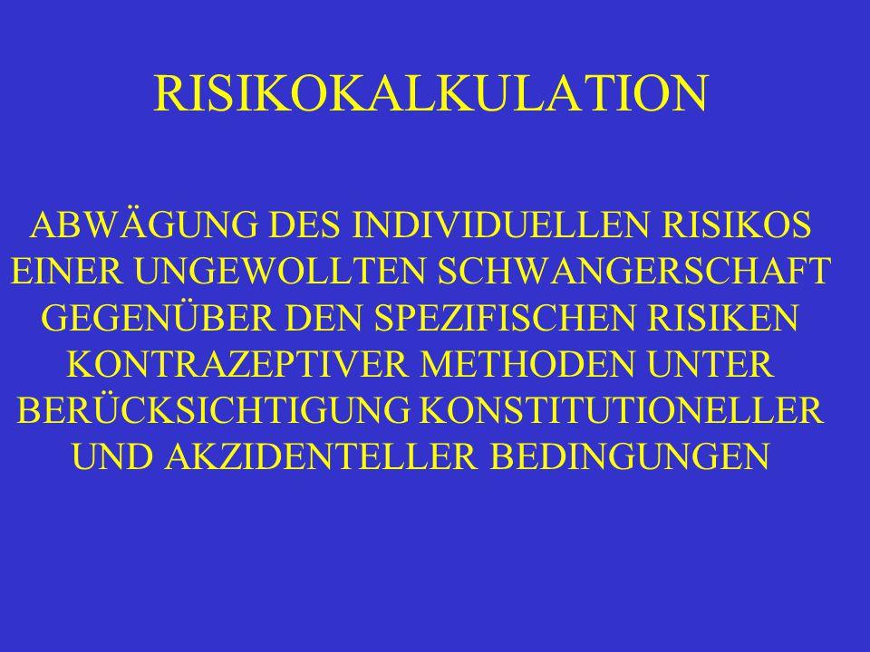 RISIKOKALKULATION