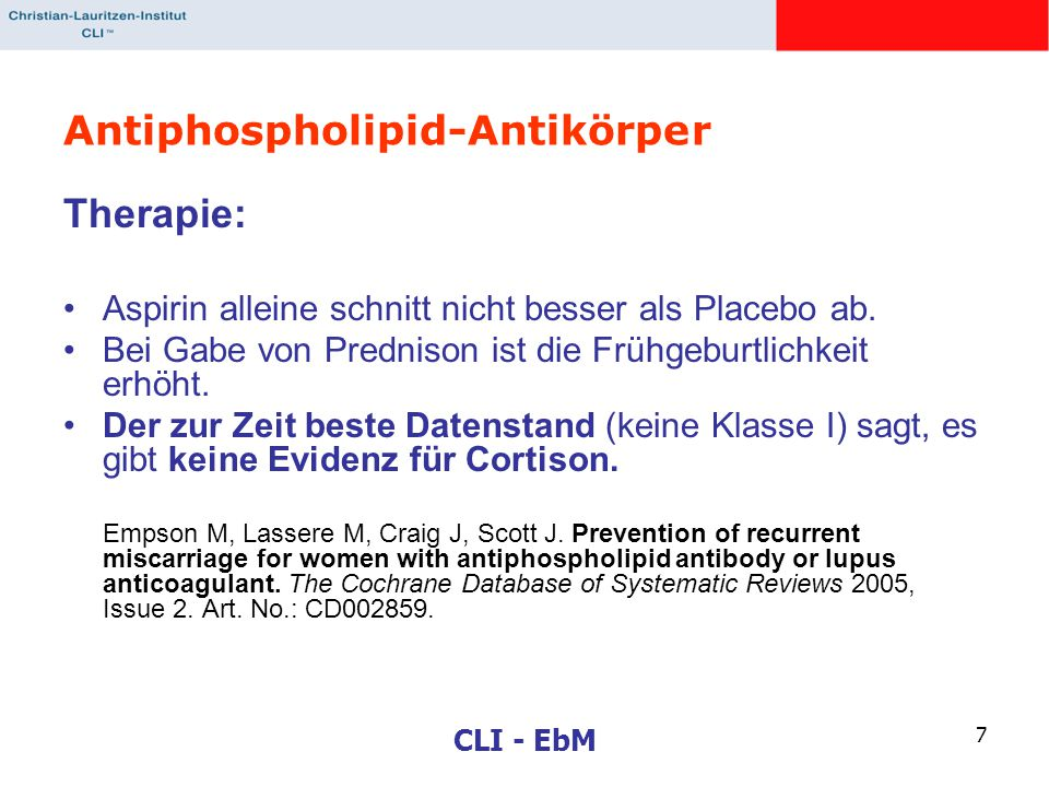 Antiphospholipid-Antikörper