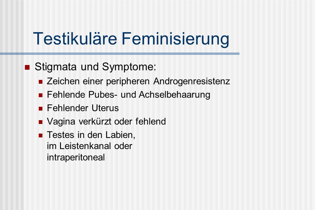 Testikuläre Feminisierung