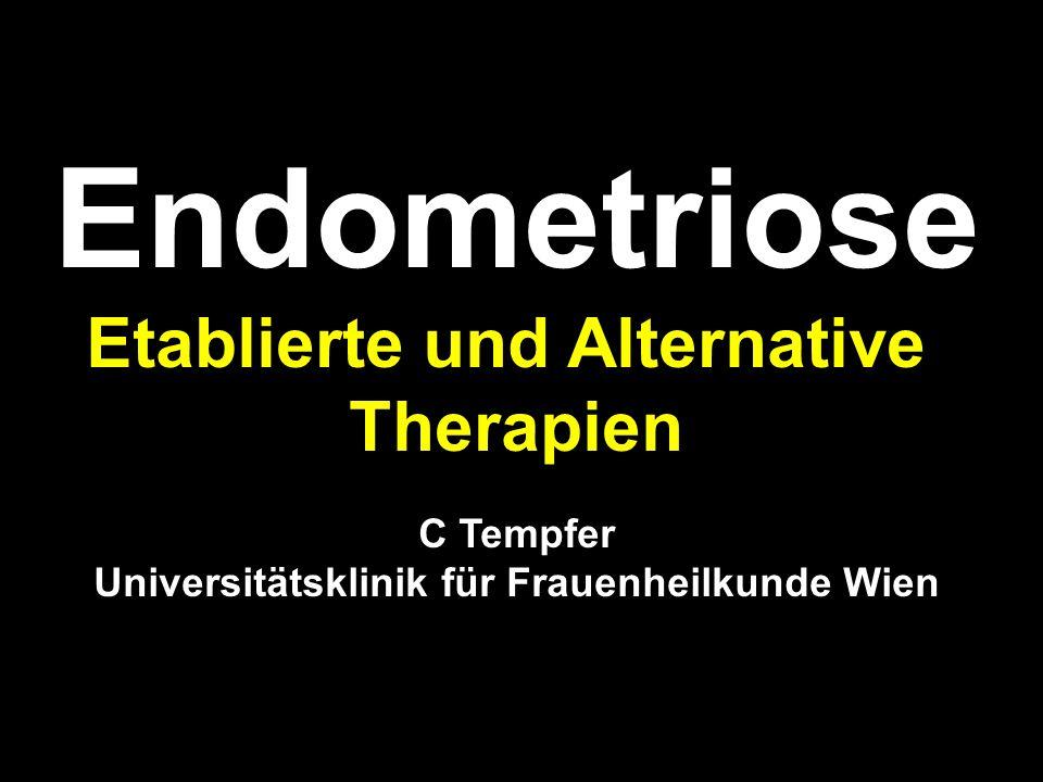 Etablierte und Alternative Universitätsklinik für Frauenheilkunde Wien