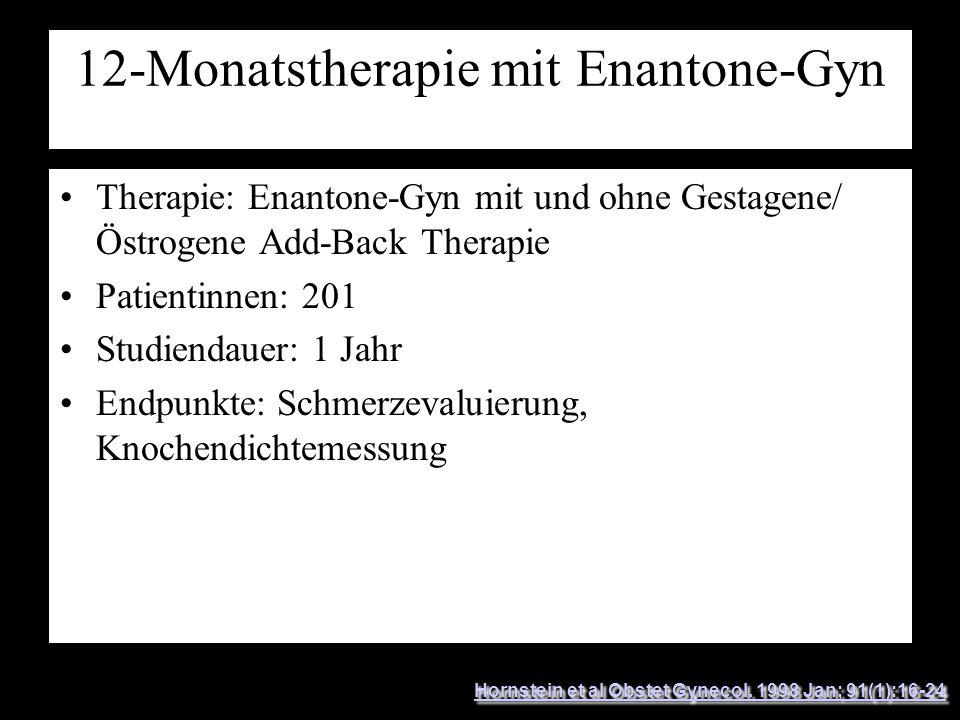 12-Monatstherapie mit Enantone-Gyn