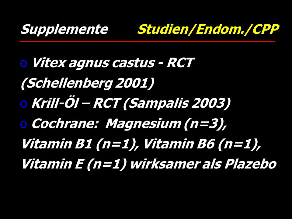 Supplemente Studien/Endom./CPP