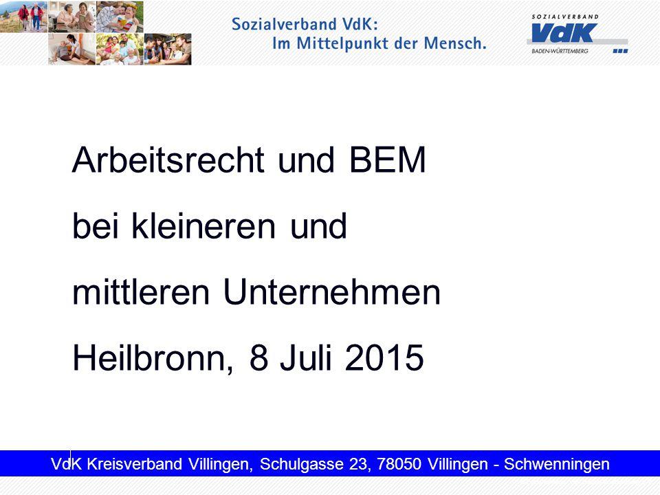 mittleren Unternehmen Heilbronn, 8 Juli 2015